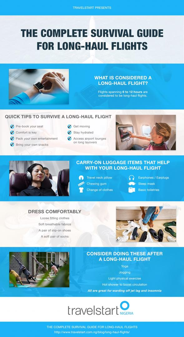 Complete Guide to Long Haul Flights Travelstart