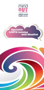cover of the mindout training information leaflet