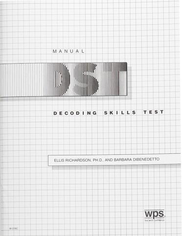 Decoding Skills Test (DST)