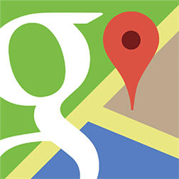 Logo Google Maps plain