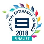 Social enterprise award 2018 finalists badge