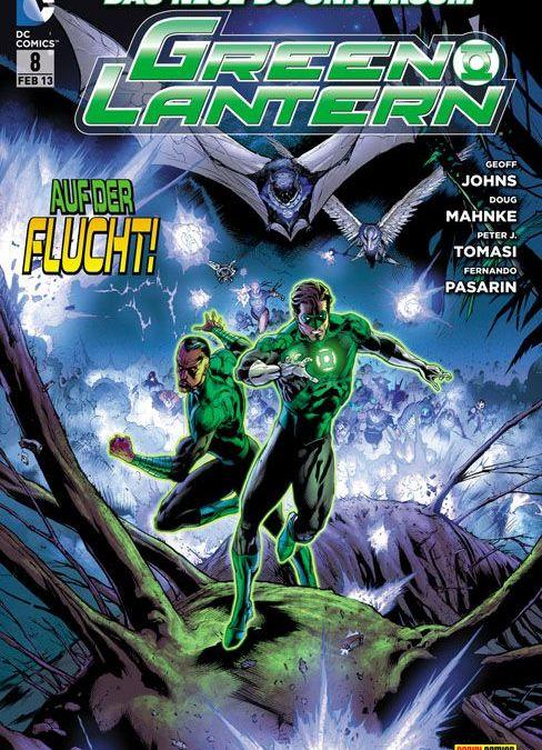 Comicreview: Green Lantern #8