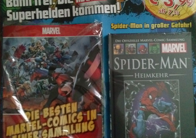 Keine Comicreview: Zeit für Superhelden – Ausgabe 1 – Spider-Man: Heimkehr