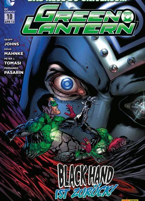 Comicreview: Green Lantern #10 von Panini