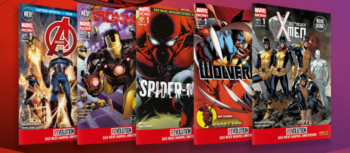 Die Reviews zu Marvel Now! bei Panini – Spider-Man, Hulk, Iron Man, Avengers, Wolverine, Deadpool, X-Men, sie sind alle da!