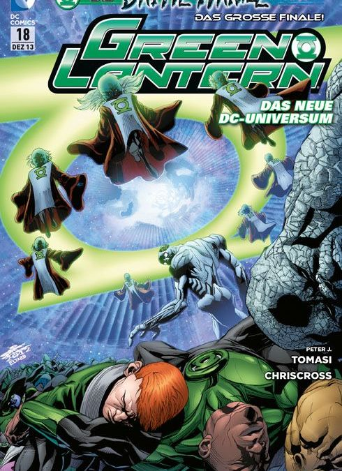 Comicreview: Green Lantern 18