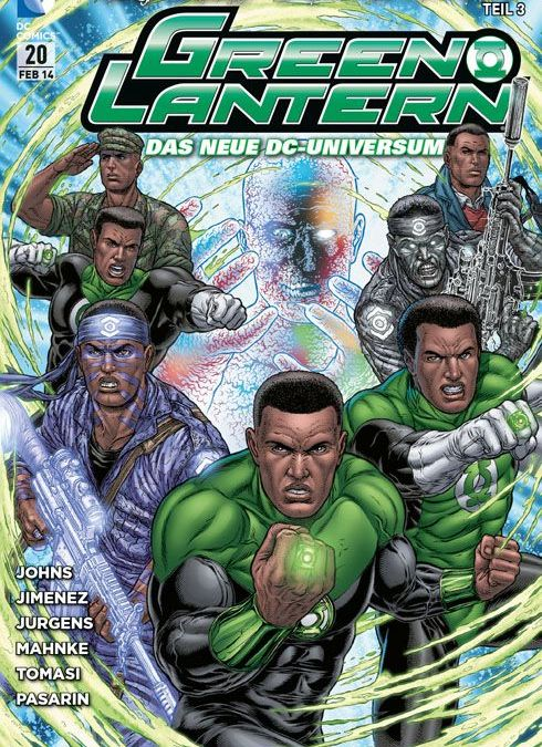 Comicreview: Green Lantern #20