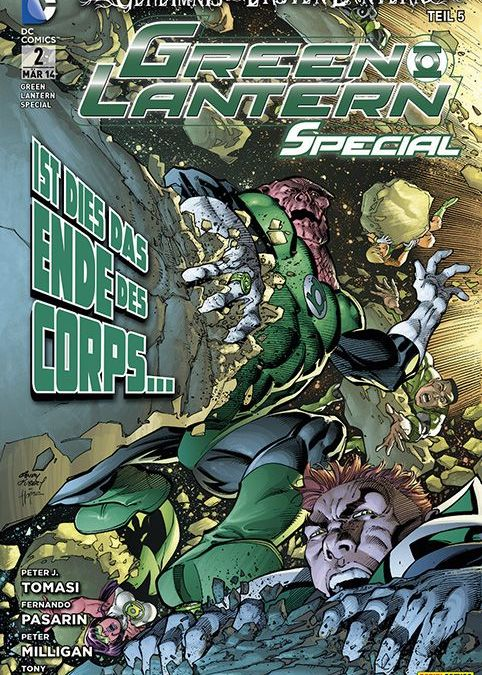 Comicreview: Green Lantern Special #2