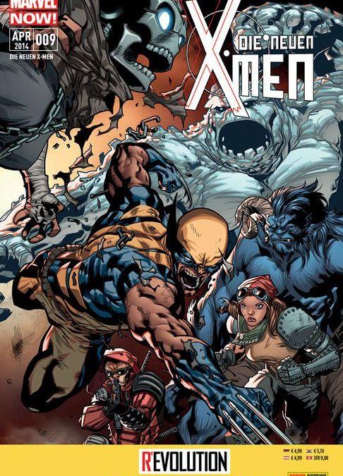 Comicreview: Die neuen X-Men #9