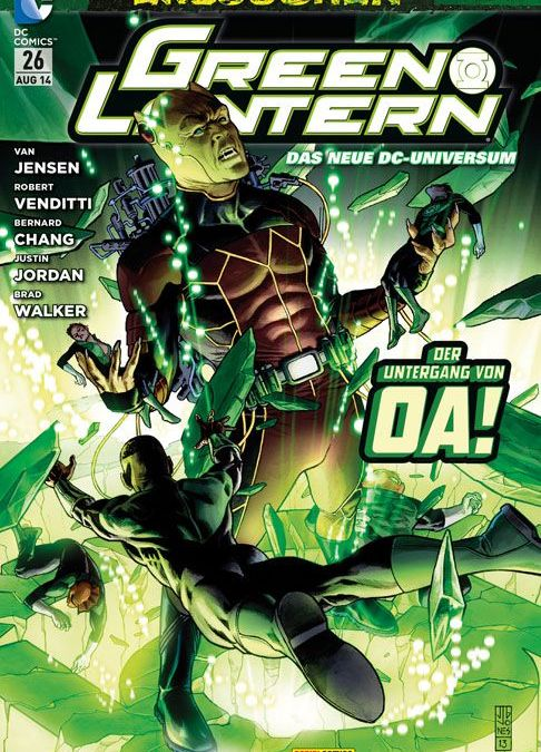 Comicreview: Green Lantern #26