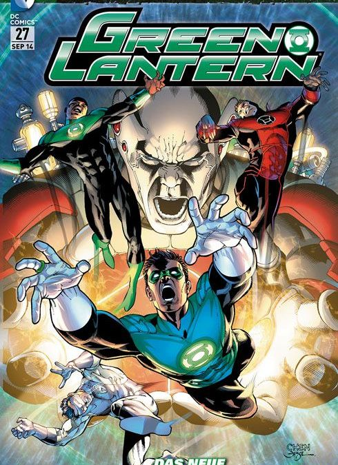 Comicreview: Green Lantern #27