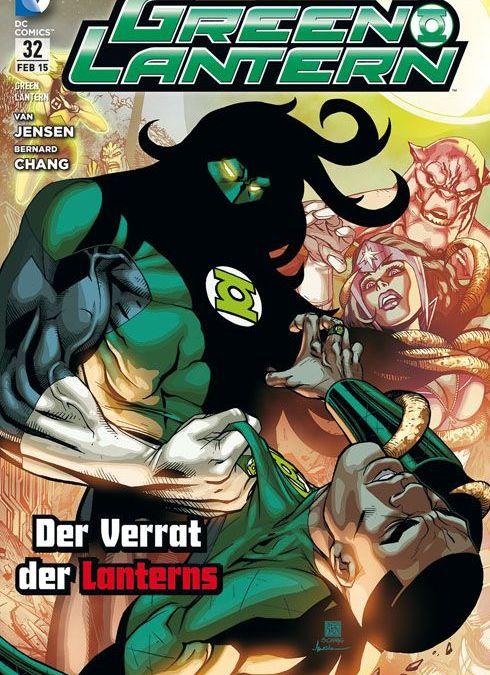 Comicreview: Green Lantern #32