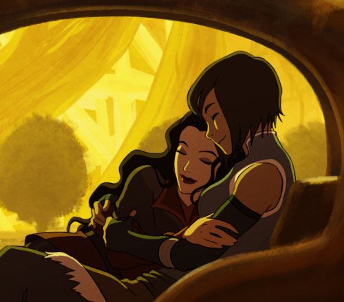 """Legend of Korra"": Korra und Asami bei der ""Turtle-Duck Date Night"""