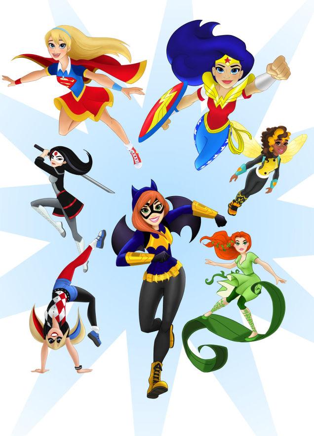 Superhelden Kinderserie