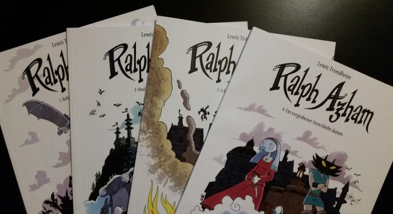 "Comicreview: ""Ralph Azham"" Band 1 – 4"