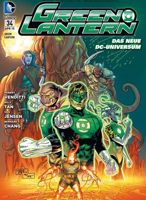 Comicreview: Green Lantern #34