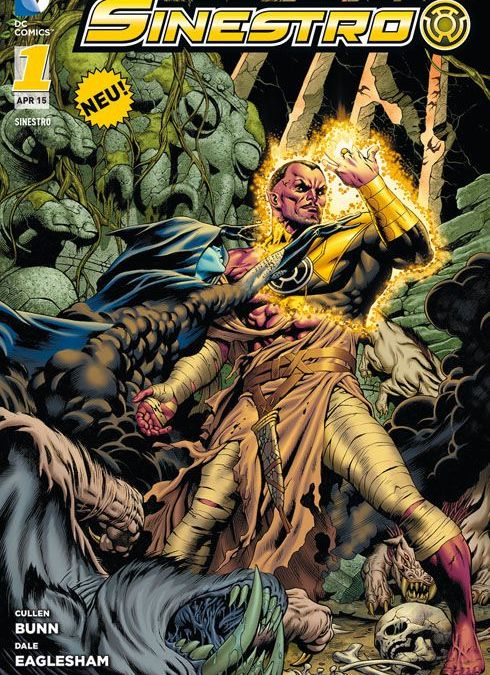 """Comicreview: """"Sinestro"""" Band 1"""