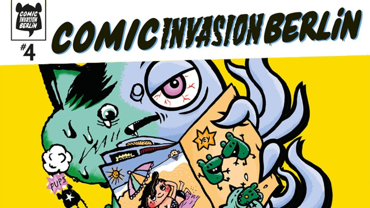 Am 18.-19.04. ist übrigens Comic Invasion in Berlin