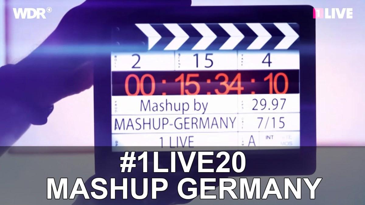 Mashup Germany mixte die Hits der letzten 20 Jahre ineinander: 1995-2015 #1LIVE20