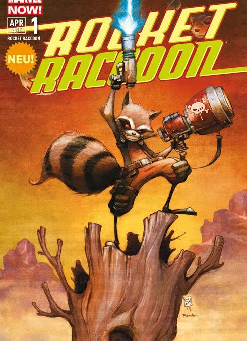 """Comicreview: """"Rocket Racoon"""" Band 1 von Scottie Young"""