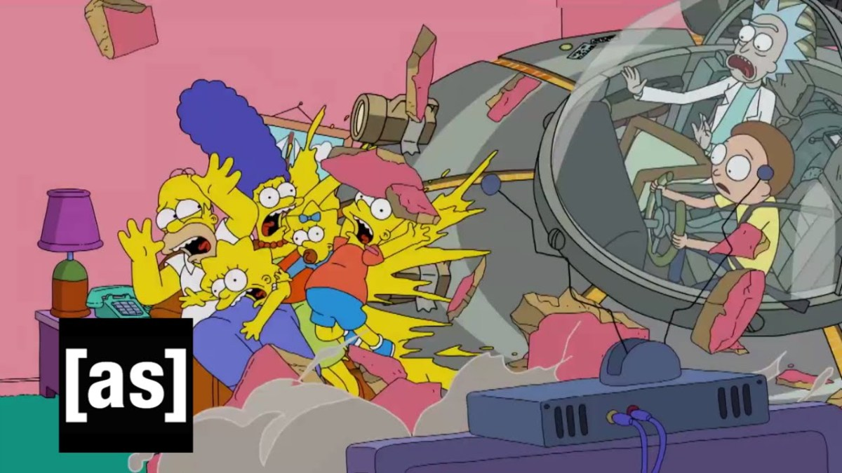 Im neusten Couchgag töten Rick & Morty die Simpsons