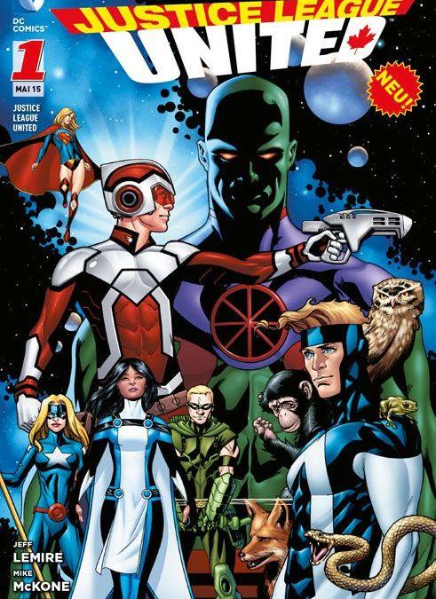 Comicreview: Justice League United 1