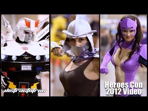 Das Cosplay Musik Video von der HeroesCon 2015