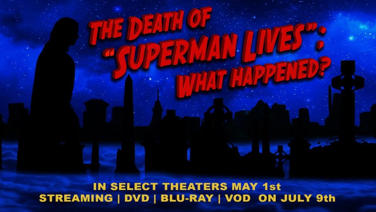 """""""The Death of 'Superman Lives': What Happened?"""" hat einen neuen Trailer und endlich ein Releasedatum!"""