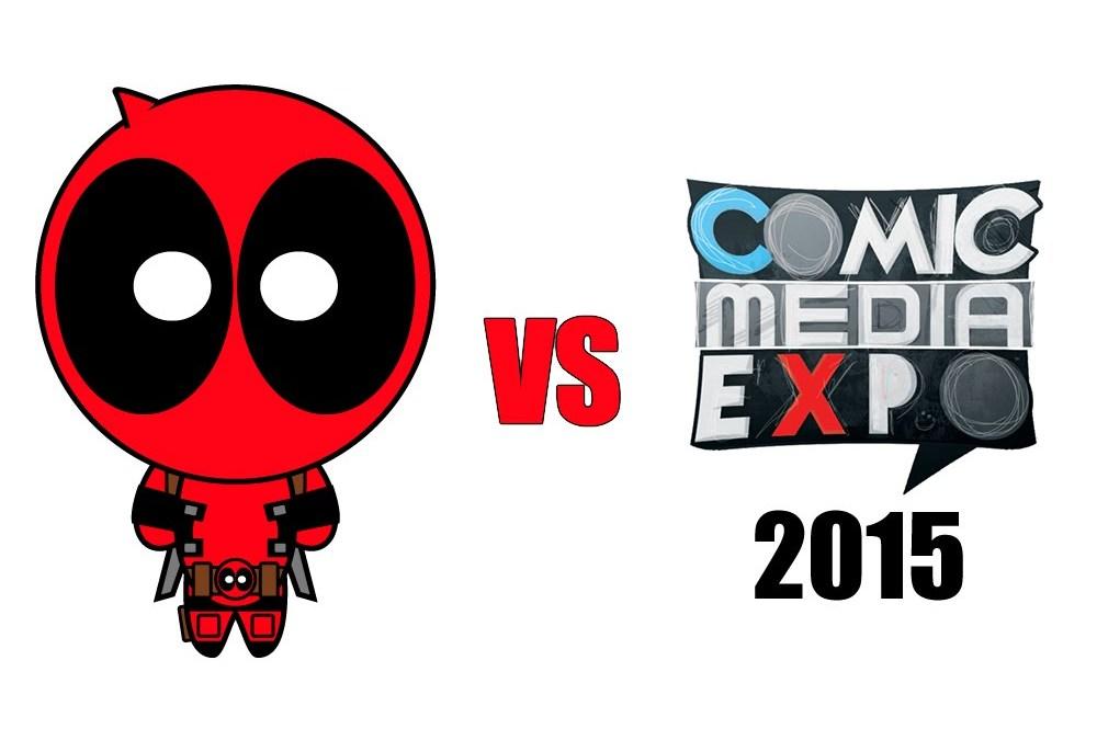 Deadpool vs. Comic Media Expo 2015