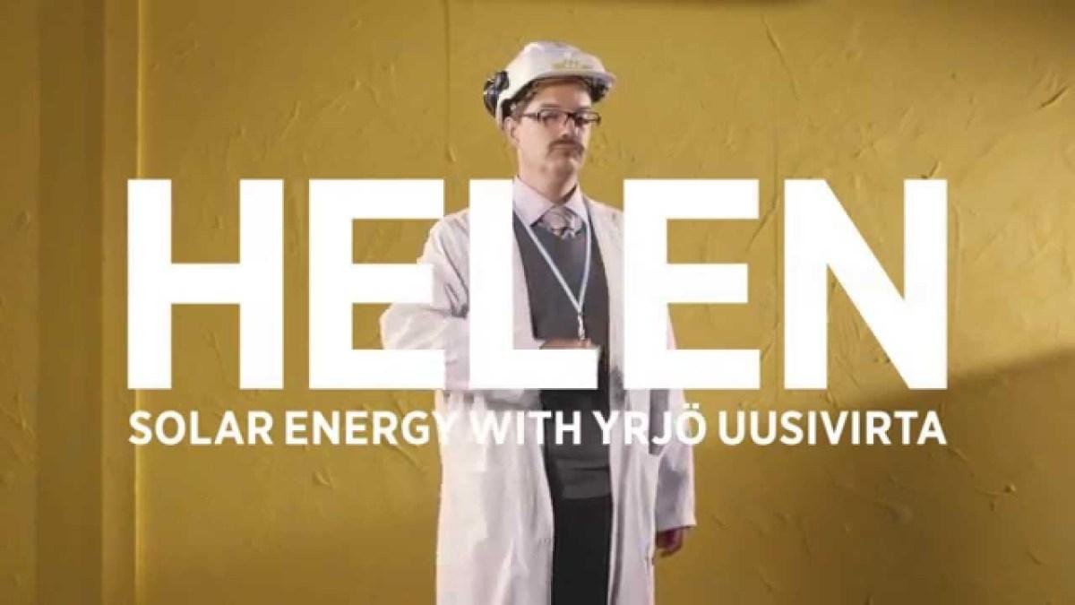 Diese finnischen Werbespots für Solarenergie sind leider viel zu absurd lustig