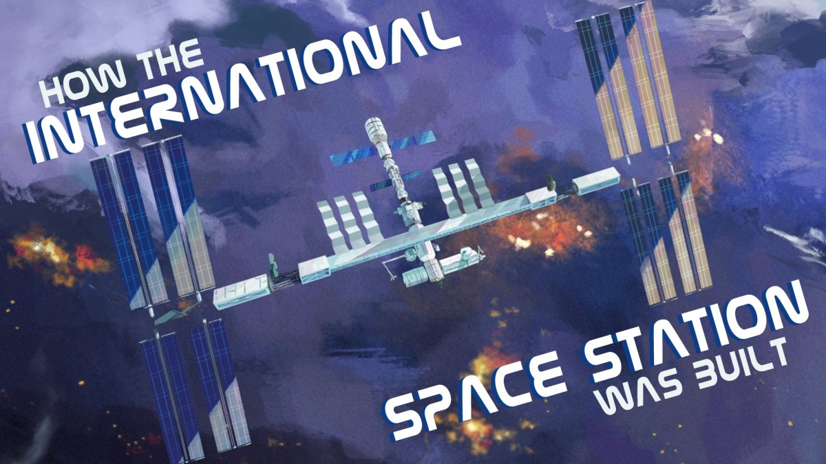TED erklärt uns, wie die ISS gebaut wurde (Tipp: Stück für Stück)