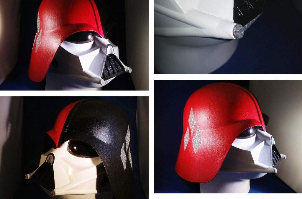 Mein zweites Custom Toy: Darth Vader meets Harley Quinn für ein Gewinnspiel bei Maskworld!