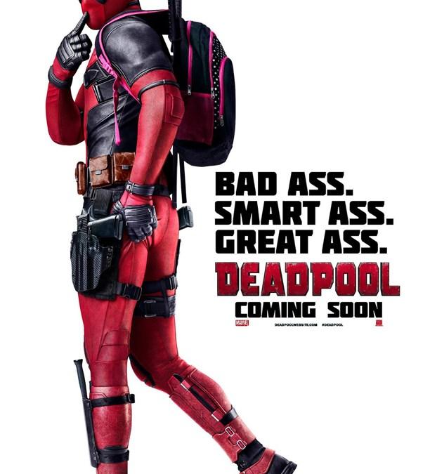 """Natürlich hat der """"Deadpool""""-Film auch ein tolles Poster!"""