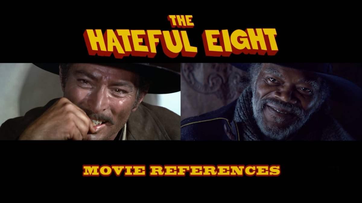 """Die vielen, vielen Filmreferenzen in """"The Hateful Eight"""" von Tarantino"""
