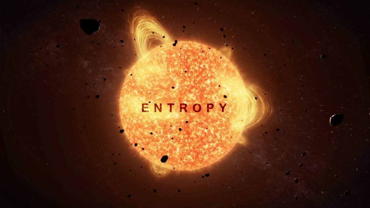 """In der kurzen Animation """"ENTROPY"""" verlässt ein Raumschiff die Erde"""