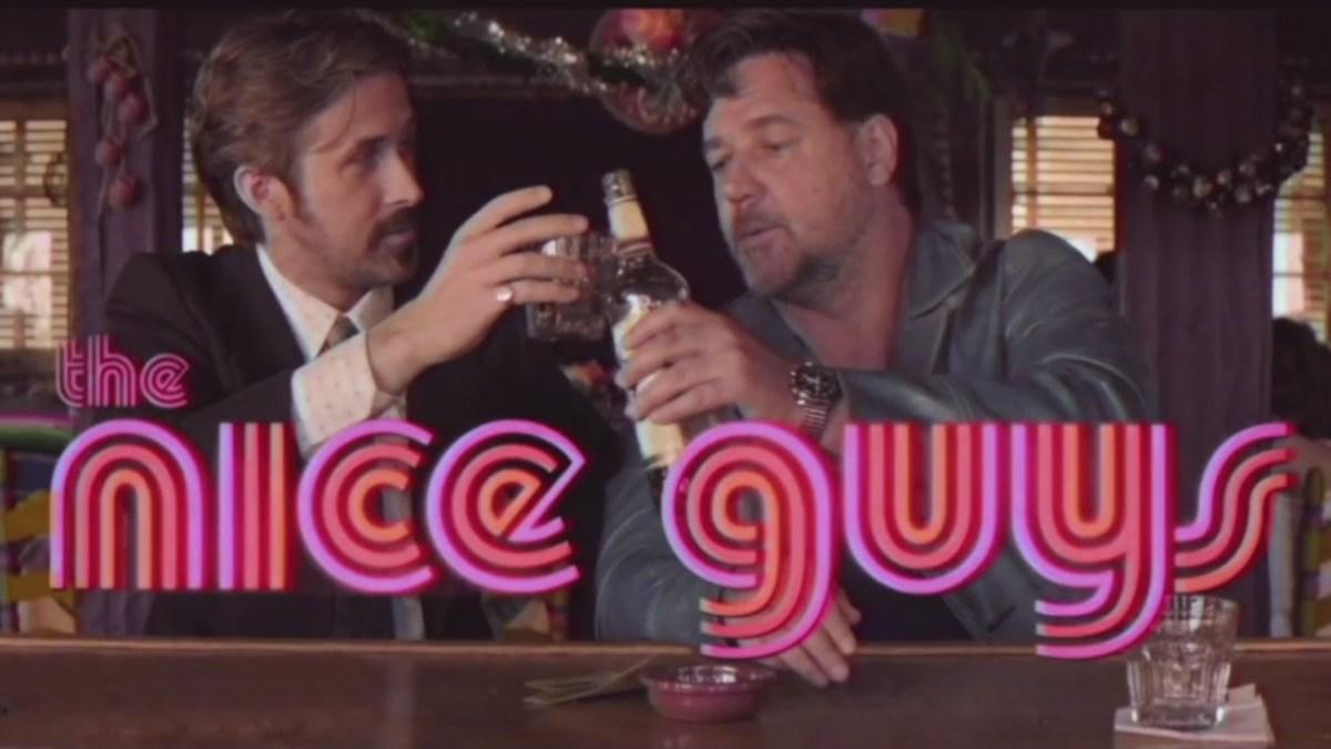 """""""The Nice Guys"""" mit Russel Crowe und Ryan Gossling bekam einen hübschen 70's Retro Trailer"""