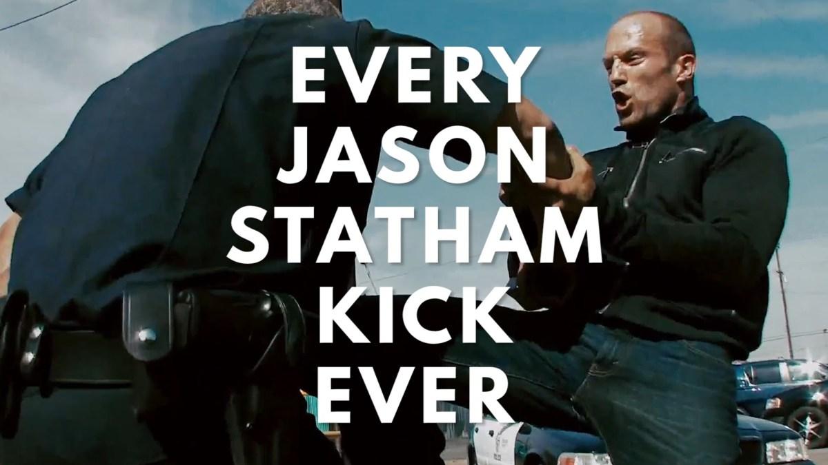Jason Statham tritt und schlägt
