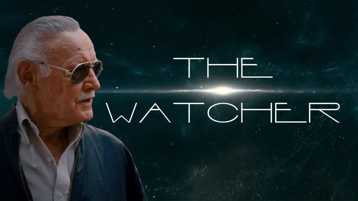 In einem Trailer-Mashup wird Stan Lee durch seine Cameos zum Watcher
