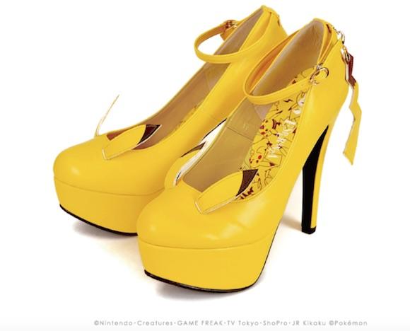 Hallo Ladies: Ich hörte, ihr wolltet Pikachu-Schuhe?