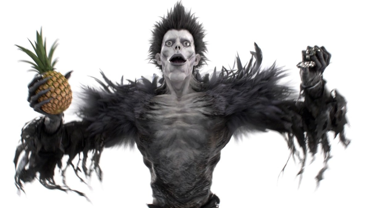 "Ryuk, der gruselige Typ aus ""Death Note"", singt den ""Pen-Pineapple-Apple-Pen""-Song"