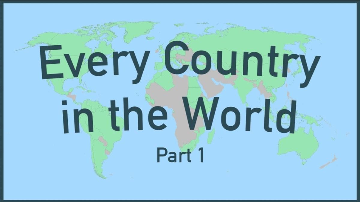 Ein Video stellt uns interessante Fakten über jedes Land der Welt vor