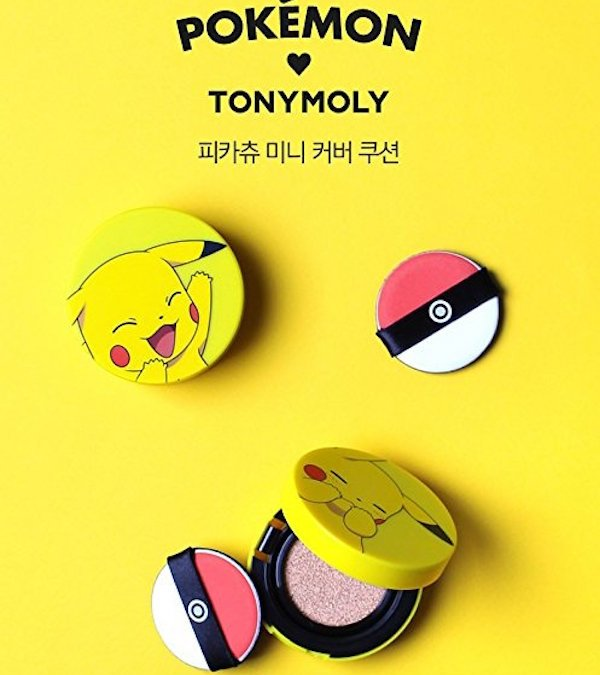 Hallo Ladies: Pokémon-Make-Up mit Pikachupuder und Pokéballaplikator
