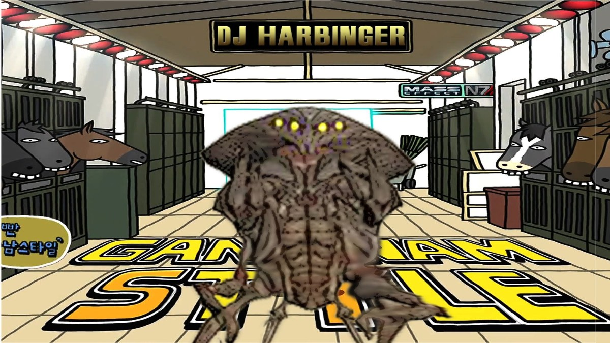 """Mass Effect: GANGNAM STYLE feat. DJ Harbinger """"Assuming Direct Control"""""""