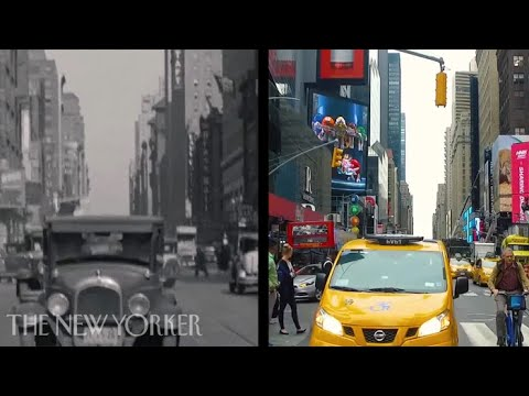 """Eighty Years of New York City, Then and Now"""
