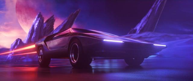 """""""Magnaton 2.0"""" zeigt uns Synthwave in der dazu passenden Optik"""