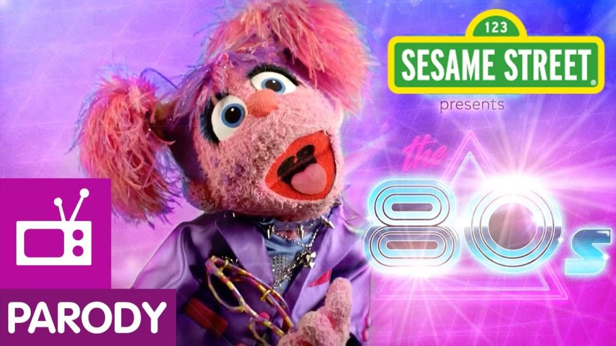 Die Sesamstraße parodiert in einem Musik-Mashup die Hits der 80er
