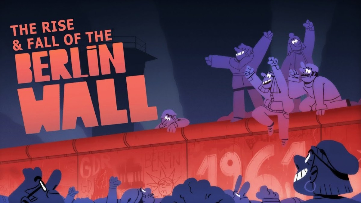 Der animierte Bau und Fall der Berliner Mauer