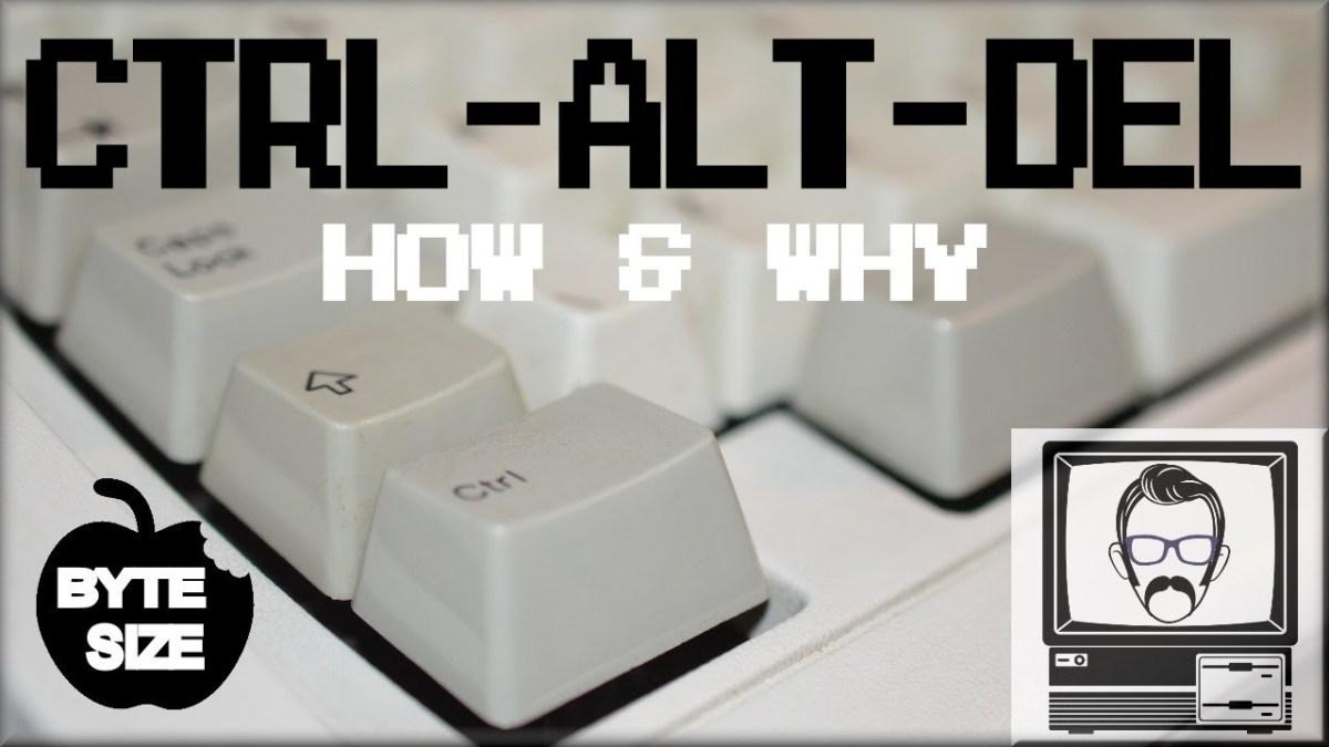 Aber warum denn nun eigentlich Strg+Alt+Entf? (Oder Ctrl+Alt+Del, wenn ihr auf englischen Tastaturen unterwegs seid)