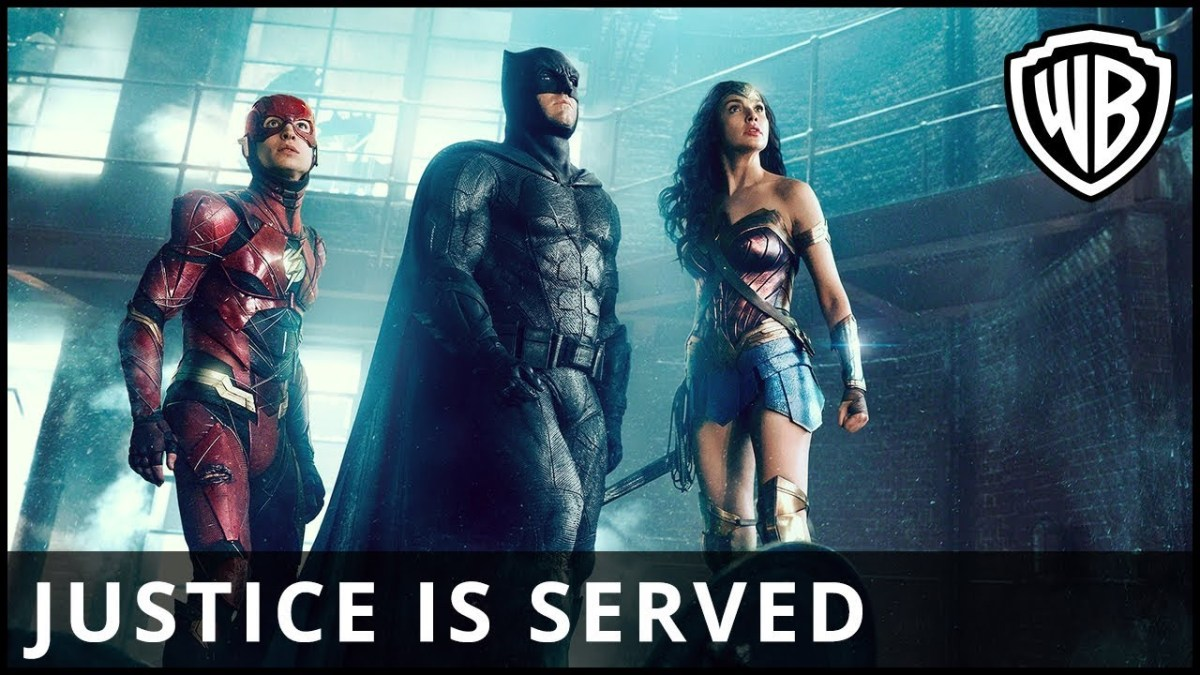 "Ach so, ja, ""Justice League"", Trailer…"