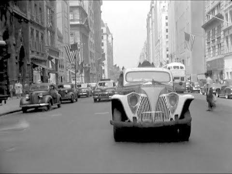 Dashcam-Footage aus New York, aber von 1945